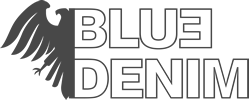 Logo Blue 3 Denim